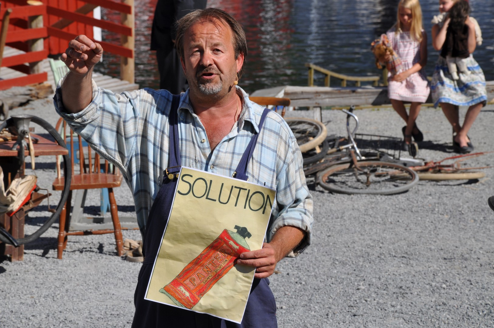 Stjørna Teaterlag - Den store gulltransporten 2010